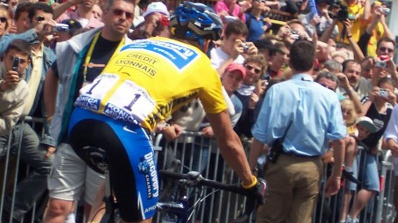 Photo by Liz Boltz Ranfeld, 2005 Tour de France