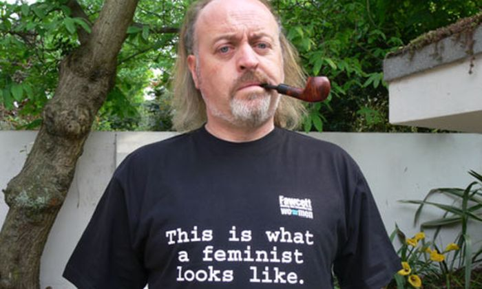 Comedian Bill Bailey, FEMINIST.