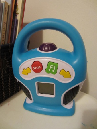Little Tunes mp3 player (filled mostly with Iron Maiden)