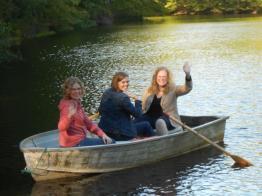 Sisters: Sara, Karen, and me