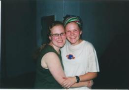 Sara & Me in Kolkata, 2001