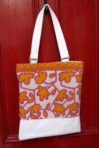 Tote bag available from Sari Bari