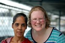 A Shanti Dan mashi and me.