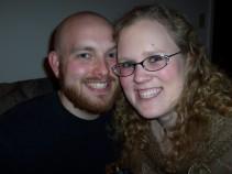 The night we got engaged (2006)