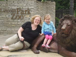 Ruthie & Me at Chicago's Lincoln Park Zoo
