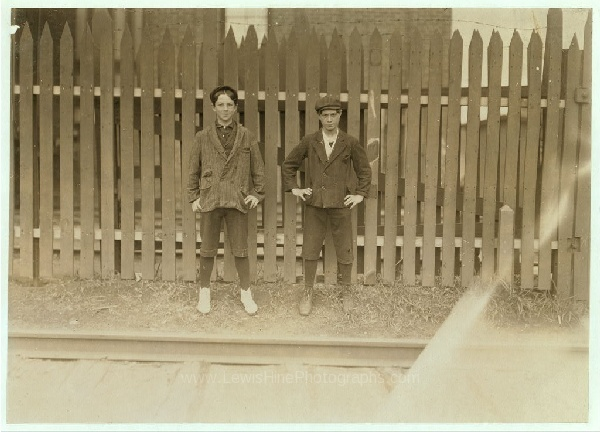 Check it out! These kids used to work in my old apartment building in Somersworth, New Hampshire. Photo credit: http://lewishinephotographs.com/content/boys-working-great-falls-mfg-co-somersworth-nh-boy-right-hand-joseph-tanguay-80-depot-street