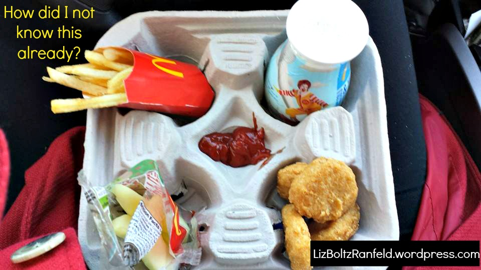 McDonald's Drink Carrier Becomes a Perfect Meal Tray ...