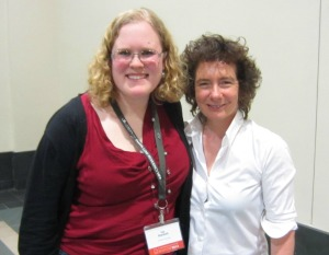 Photo credit: Me! Because that's me and Jeanette Winterson!