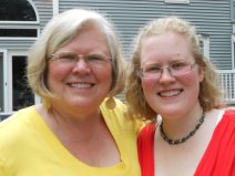My own mother and me