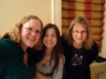Me with Ambre and Carolyn, two mothers who have served nurturing roles in my life