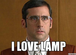 If you are Brick Tamland, you have permission to marry Lamp. May no one ever doubt your love.